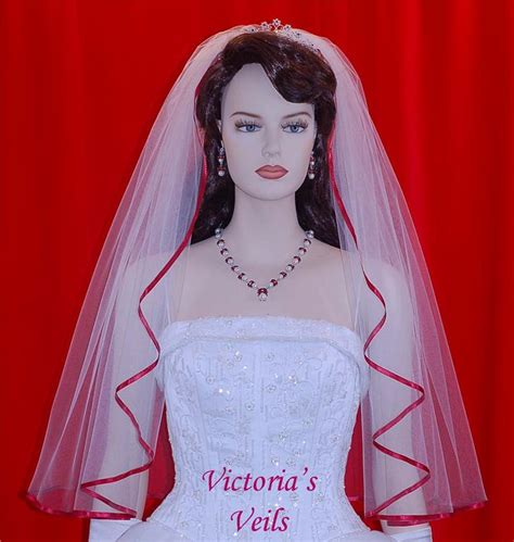 """Apple Red Bridal Wedding Veil 30"""" 482  Victoria's. Wedding Invitations Local. Outdoor Wedding Knoxville Tn. Disney Wedding Invitations Australia. Wedding Garter Information. Winter Wedding Photo Gallery. Wedding Table Menu. Planning A Wedding On A Limited Budget. Wedding Events Company Philippines"""