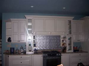 100 blue kitchen walls 15 best dark blue u0026 white for Kitchen colors with white cabinets with metal tile wall art
