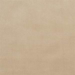 Beige Plain Velvet Drapery and Upholstery Fabric