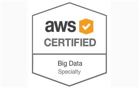ine aws certified big data specialty certification