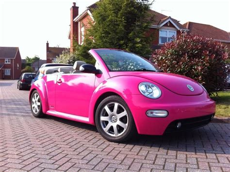 Pink Convertible Car For Sale by I Used To A Yellow One But I Ve Always Dreamed Of
