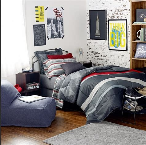 Dormify For Guys! Love This Dormified Dorm Room For Your
