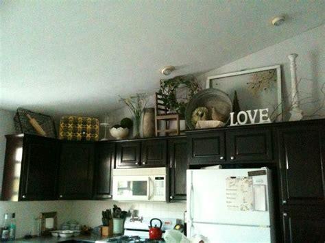 decorating  kitchen cabinet antiques nature