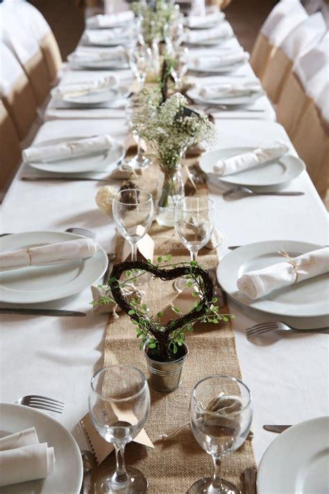 inspirations pour  mariage champetre centre table
