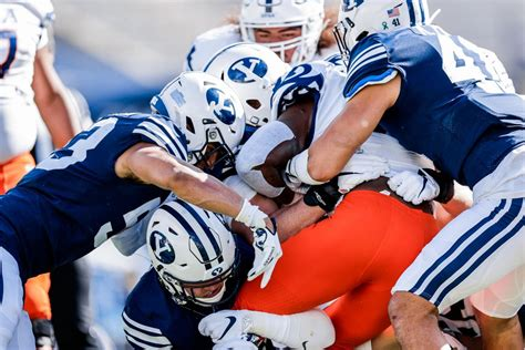 Getting stops: BYU defense hopes to trend back to dominant ...