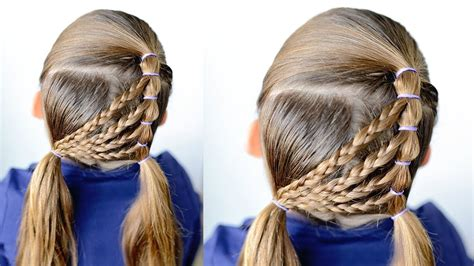 easy braided hairstyles   girls youtube