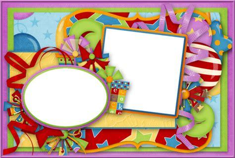 cadre anniversaire scrapbook birthday frame png