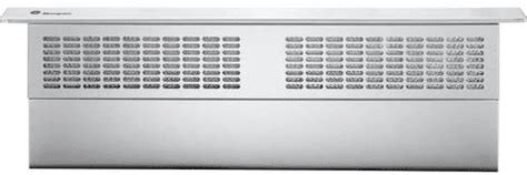 monogram zvbstss   downdraft ventilation system
