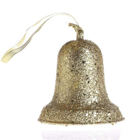 gold glittered liberty bell ornament christmas ornaments