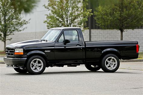 1995 Ford F150 Lightning by This 90s Ford F 150 Lightning Packs A Supercharged