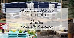 Tuto Salon De Jardin En Palette : salon de jardin en palette 21 id es d couvrir ~ Dallasstarsshop.com Idées de Décoration
