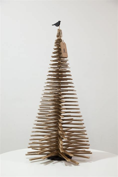 cardboard christmas trees designythings
