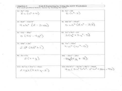 factoring polynomials worksheet homeschooldressage