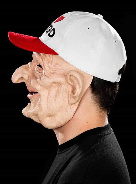bingo fan latex mask