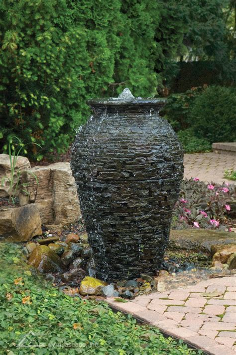 Aquascape Fountains by Water Fountains Outdoor Water Features Aquascape