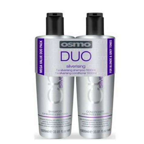 osmo silverising shampooconditioner twin pack