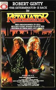 "VHS cover art: ""Retaliator"" aka ""Programmed To Kill"" (1987 ..."
