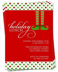 Invitation holiday party invitation christmas dinner or lunch christmas pinterest for Christmas lunch invitation