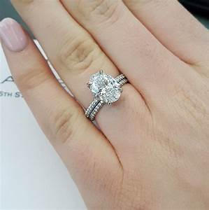Mixing and matching wedding bands jewelry blog for Engagement ring wedding band