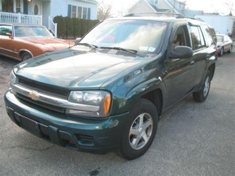 Sell Used 2006 Chevy Trailblazer Ls Suv Green 4wd Vortec 4