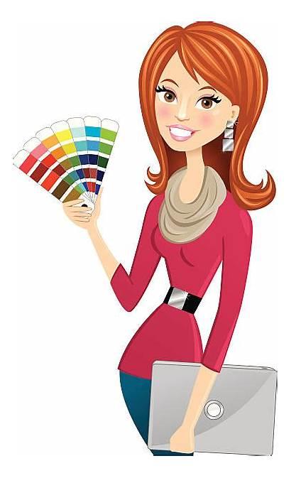 Interior Designer Clipart Graphic Vector Clip Cliparts