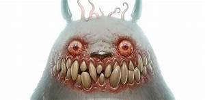 Cartoon Characters Turned Into Monsters