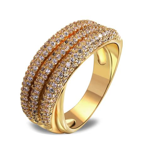 2014 new vintage style ring latest jewelry 18k gold plated