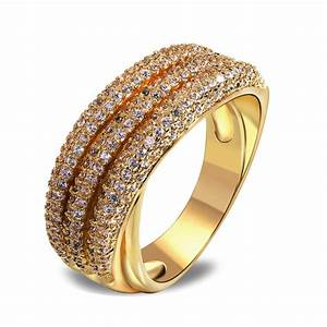 2014 new vintage style ring latest jewelry 18k gold plated for In style wedding rings