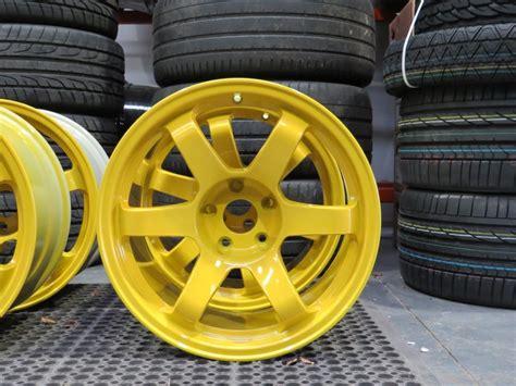 rota grid drift canary yellow alloy wheel customisation