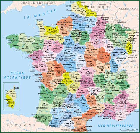 Carte Département Ville by Infos Sur 187 Departements Carte 187 Vacances Arts Guides