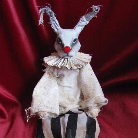 evil bunny clown art dolls evil bunny cute clown