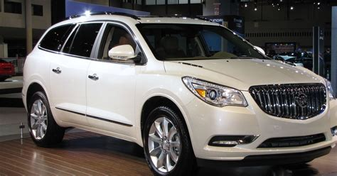 elegant functionality  buick enclave crossover