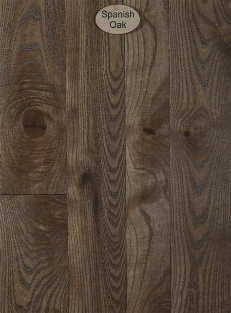 Ash, Natural Character, Spanish Oak Stain   Peachey