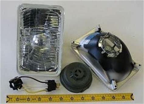 h4 len test hella 165mm rectangular e code conversion headlight kit with standard 60 55w h4