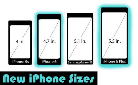 iphone sizes new iphone and apple take the tech world by