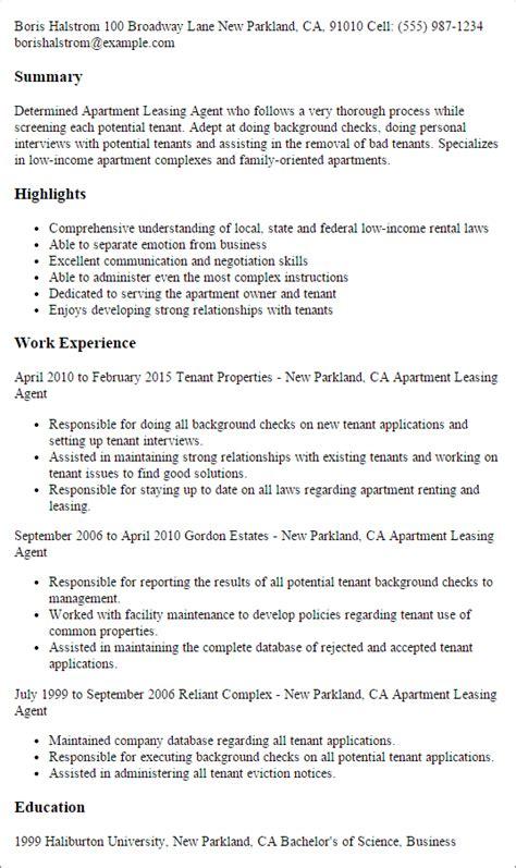 Sle Leasing Resume by Resume For Leasing Bijeefopijburg Nl