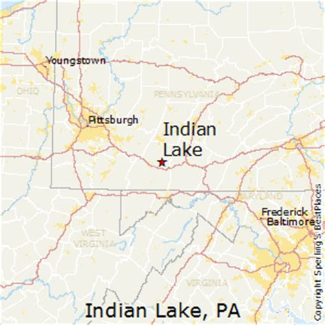 places    indian lake pennsylvania