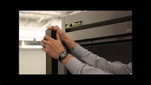 True Mfg Solid Door Reach-in Freezer Video  T-49f