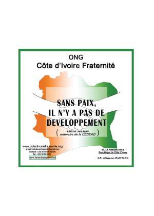 cuisine pdf l 39 ong côte d 39 ivoire fraternité prône la paix et le