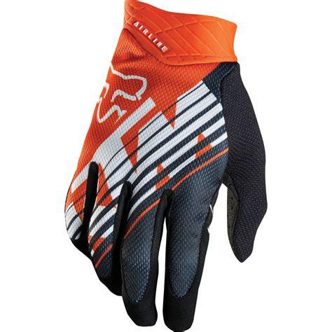 fox motocross gloves fox mx gear new airline ktm orange mtb motocross dirt bike