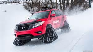 2016 Nissan Pathfinder Winter Warrior Concept On Tracks In