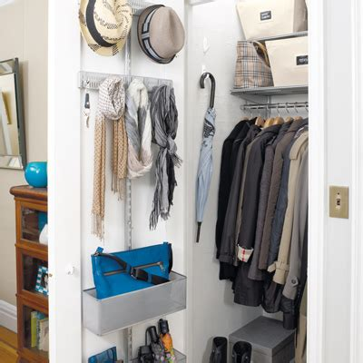Hall Closet Organization Ideas  Ideas & Organization Tips