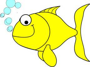 Yellow Fish Clip Art