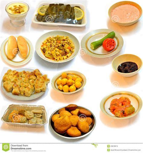 de cuisine arabe diner la nourriture de l 39 arabe de cuisine images stock