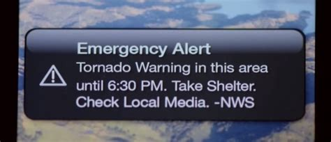 warning on iphone how to get iphone tornado warnings and notifications