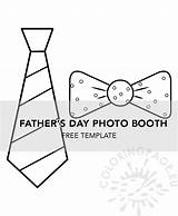 Booth Fathers Template Father Coloring sketch template