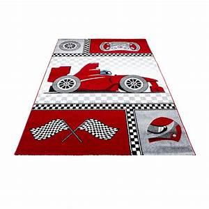 Tapis D Entrée Pas Cher : tapis pour chambre de gar on cr me et gris voiture f1 speed ~ Teatrodelosmanantiales.com Idées de Décoration