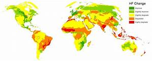 Maps Show Humans' Growing Impact on the Planet