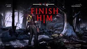 Mortal Kombat X Jason vs. Leatherface - YouTube