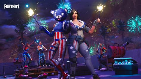 Possible Live Fortnite Fireworks Event For 4th July